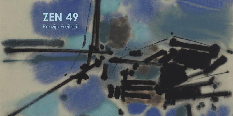Einladungskarte Ausstellung ZEN 49 – Prinzip Freiheit 2009 Galerie Maulberger