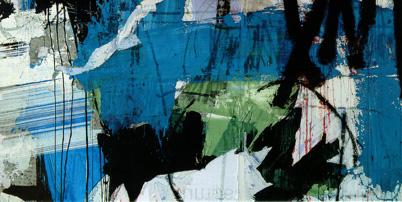 Einladungskarte Ausstellung Anthony Werner 2000 Galerie Maulberger