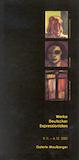 Einladungskarte Ausstellung Werke deutscher Expressionisten 2001 Galerie Maulberger