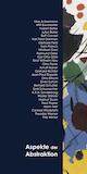 Einladungskarte Ausstellung Aspekte der Abstraktion 2004 Galerie Maulberger