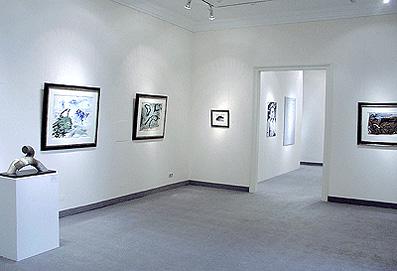 Ausstellung Emil Schumacher 2004 Galerie Maulberger 01