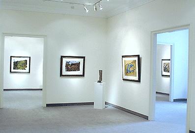 Ausstellung Emil Schumacher 2004 Galerie Maulberger 02