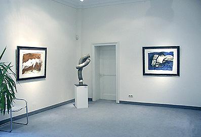 Ausstellung Emil Schumacher 2004 Galerie Maulberger 03