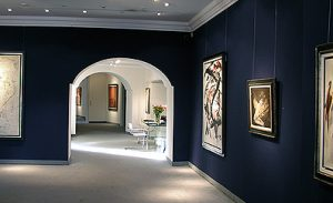Ausstellung Informelle Tendenzen 2005 Galerie Maulberger 01