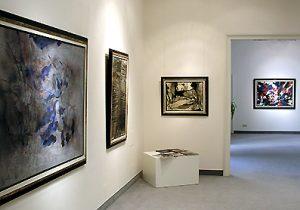 Ausstellung Informelle Tendenzen 2005 Galerie Maulberger 03