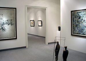 Ausstellung Informelle Tendenzen 2005 Galerie Maulberger 05