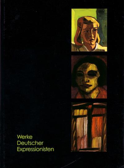 Katalog Werke deutscher Expressionisten Galerie Maulberger