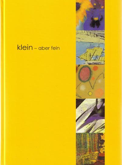 Katalog klein aber fein Galerie Maulberger