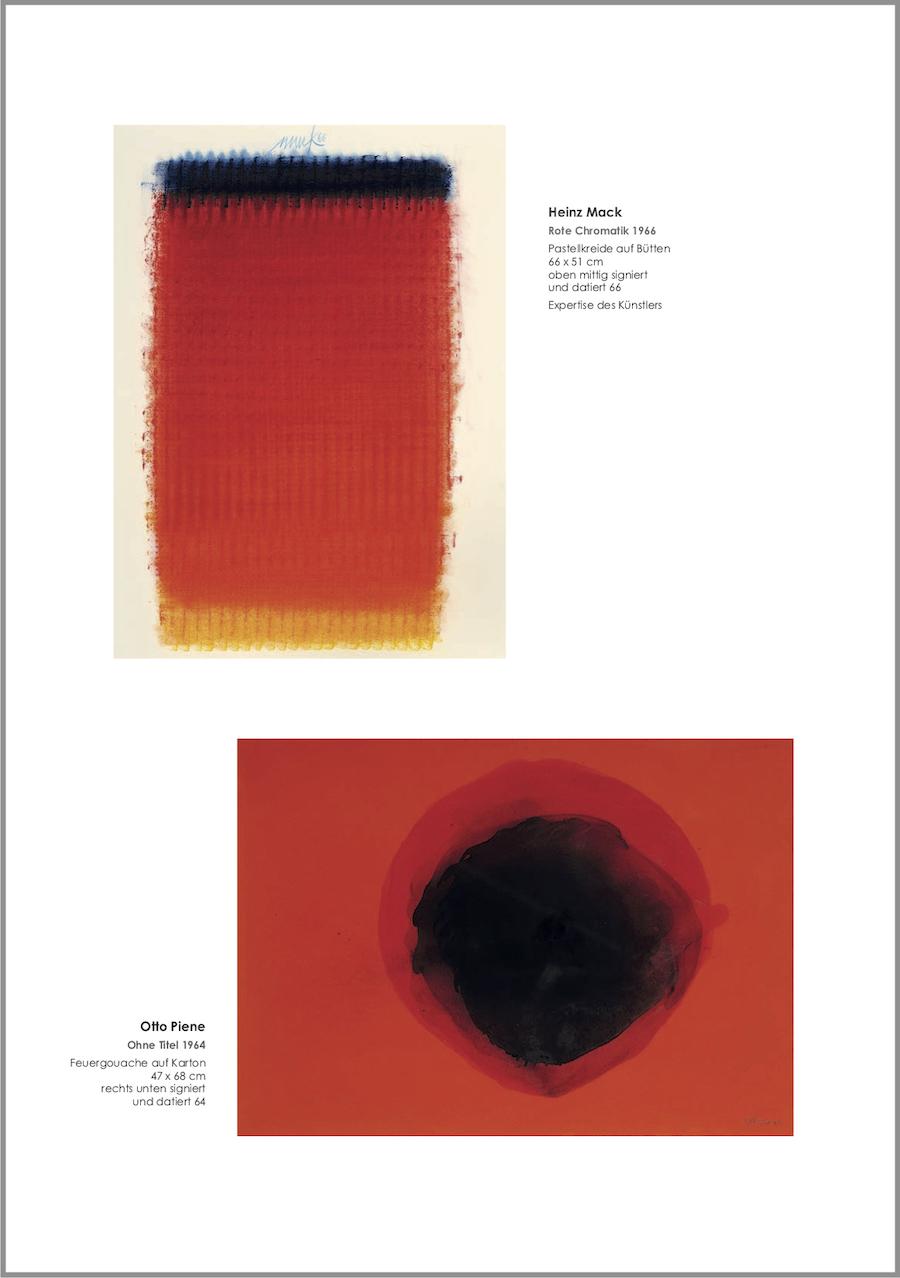Einladungskarte Ausstellung ROT – Energie - Kraftfeld - Dynamik 2019 Galerie Maulberger 02