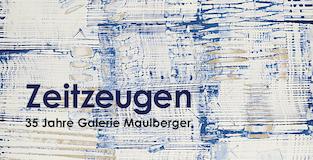 Einladungskarte Ausstellung Zeitzeugen Galerie Maulberger