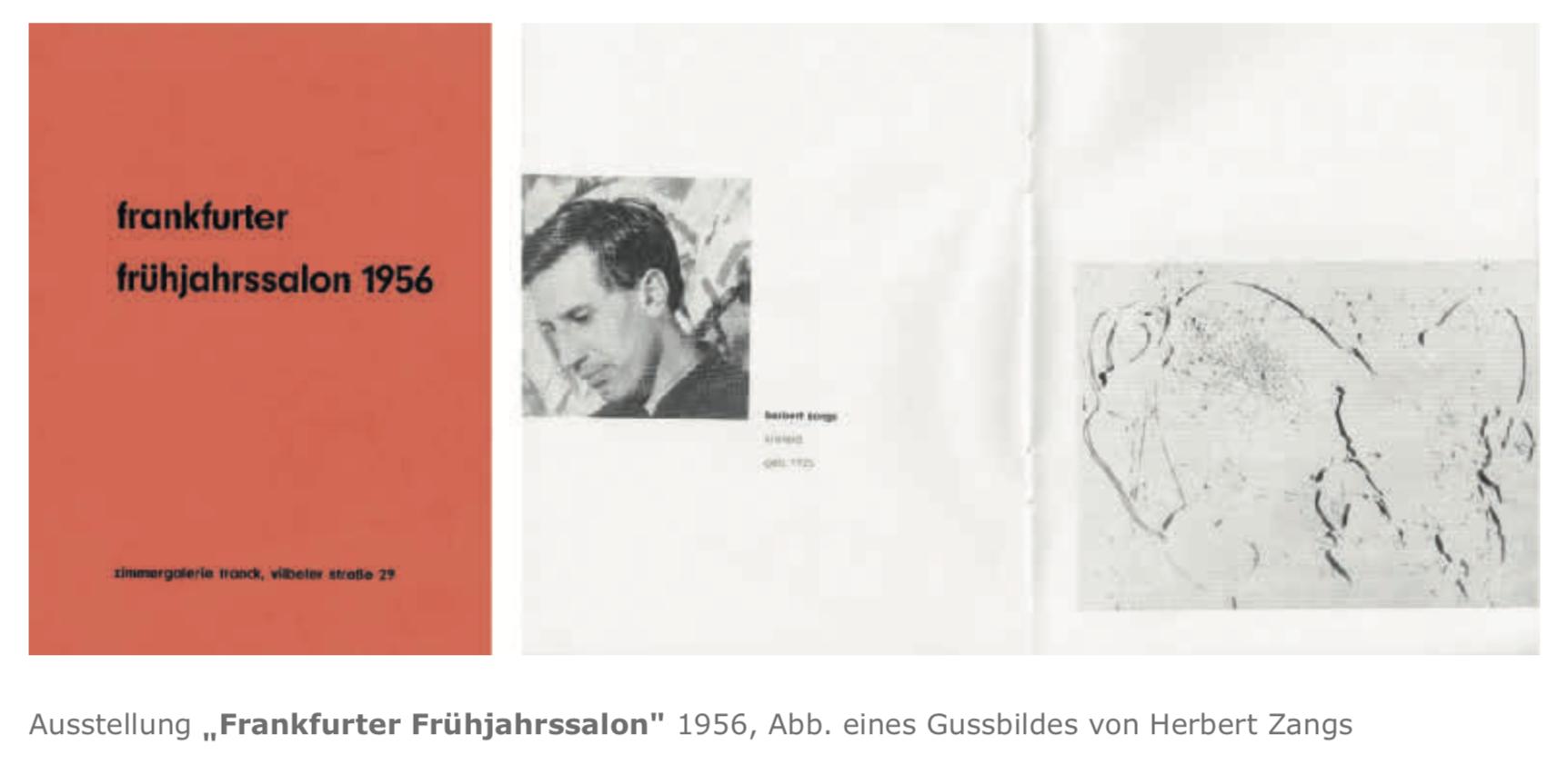 Galerie Maulberger Frankfurter Fruehjahrssalon Publikation Zeitzeugen Seite 120