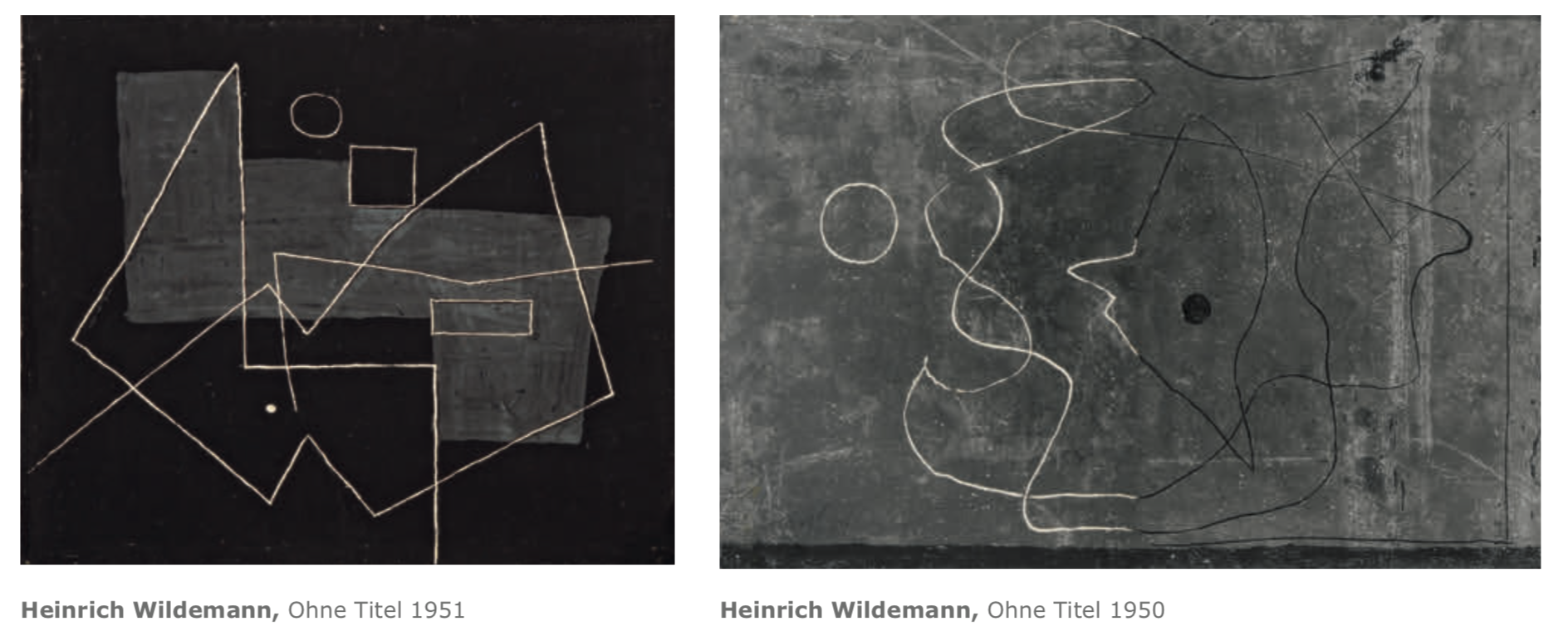 Galerie Maulberger Heinrich Wildemann Publikation Zeitzeugen Seite 112
