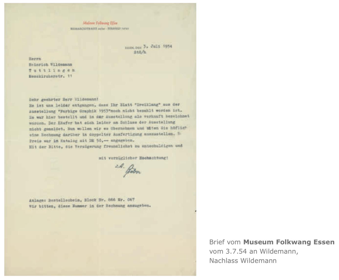 Galerie Maulberger Heinrich Wildemann Publikation Zeitzeugen Seite 113