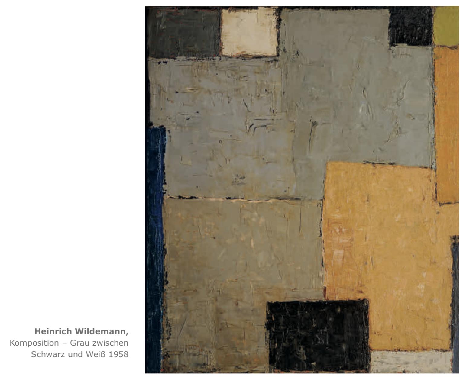 Galerie Maulberger Heinrich Wildemann Publikation Zeitzeugen Seite 115