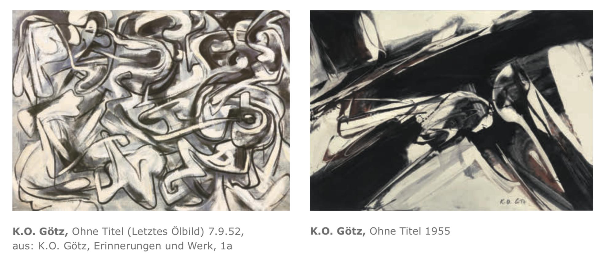 Galerie Maulberger K.O. Goetz Publikation Zeitzeugen Seite 118