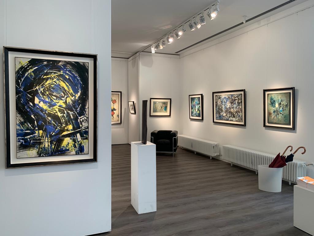 Ausstellung Cavael Sonderborg Thieler 2020 Galerie Maulberger 01