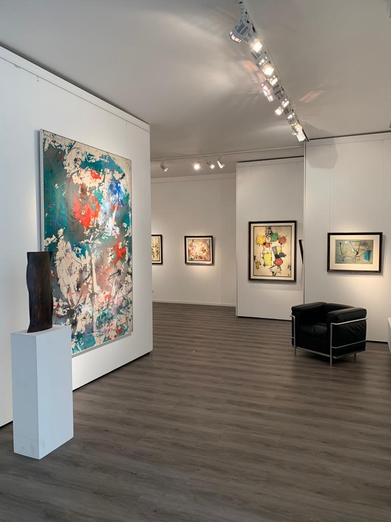 Ausstellung Cavael Sonderborg Thieler 2020 Galerie Maulberger 02
