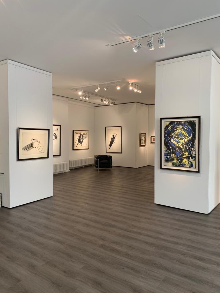 Ausstellung Cavael Sonderborg Thieler 2020 Galerie Maulberger 04