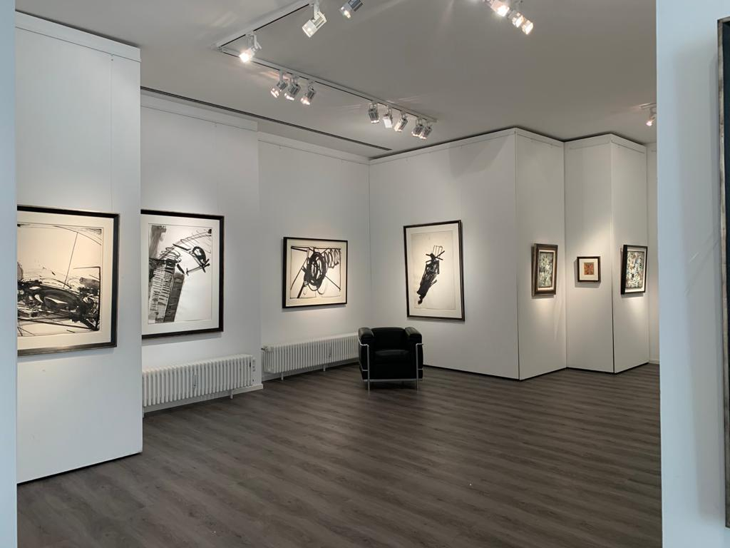Ausstellung Cavael Sonderborg Thieler 2020 Galerie Maulberger 06