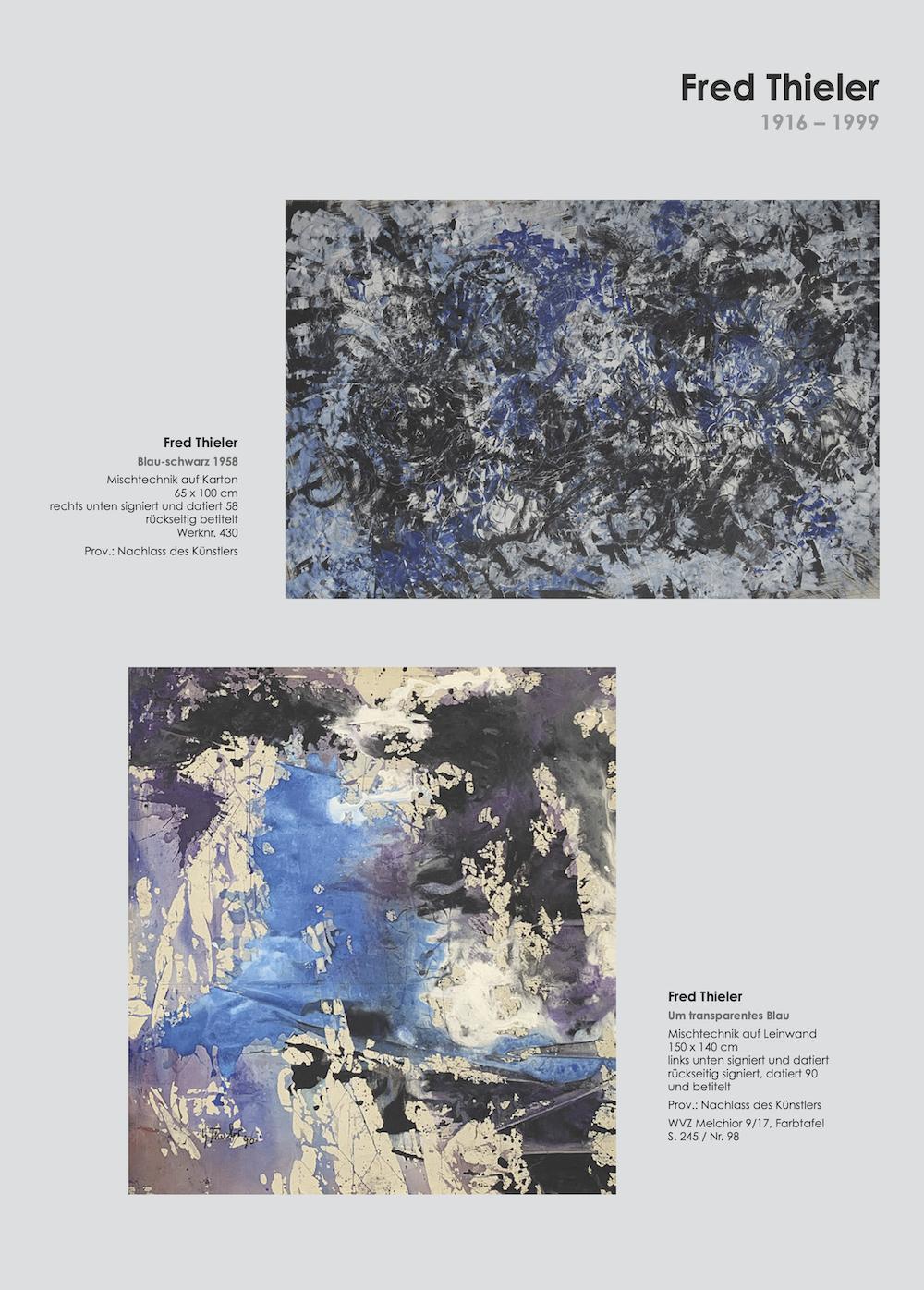 Einladungskarte Ausstellung Cavael Sonderborg Thieler 2020 Galerie Maulberger 04