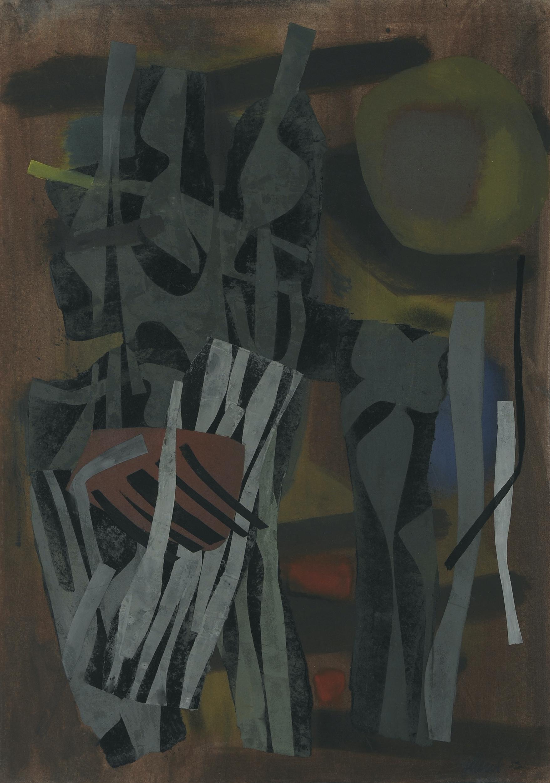 Galerie Maulberger Fritz Winter 1953