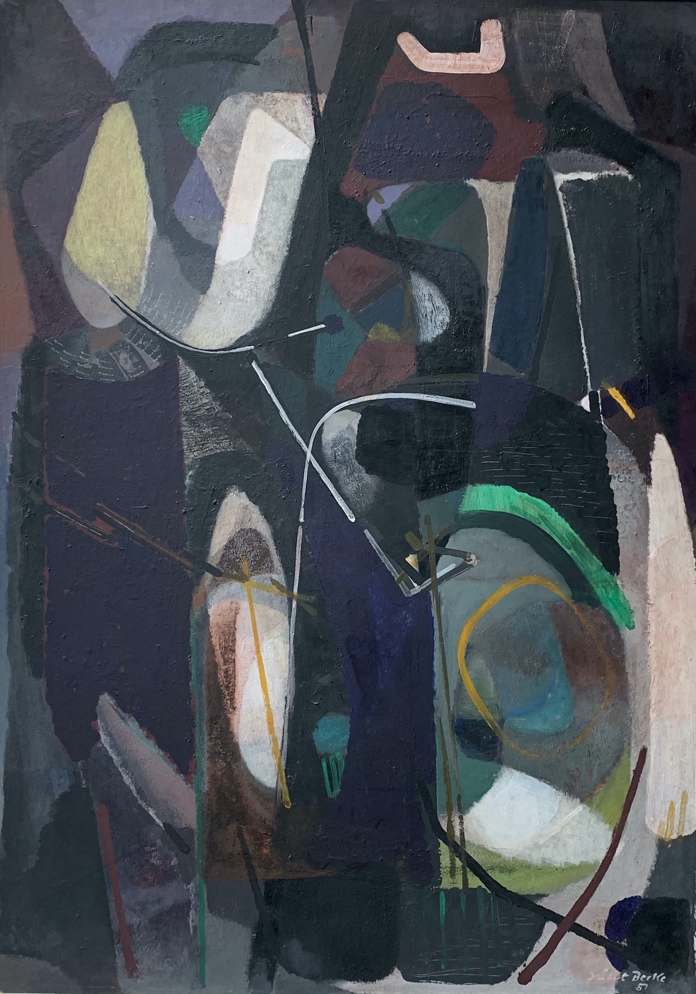 Galerie Maulberger Hubert Berke 1951