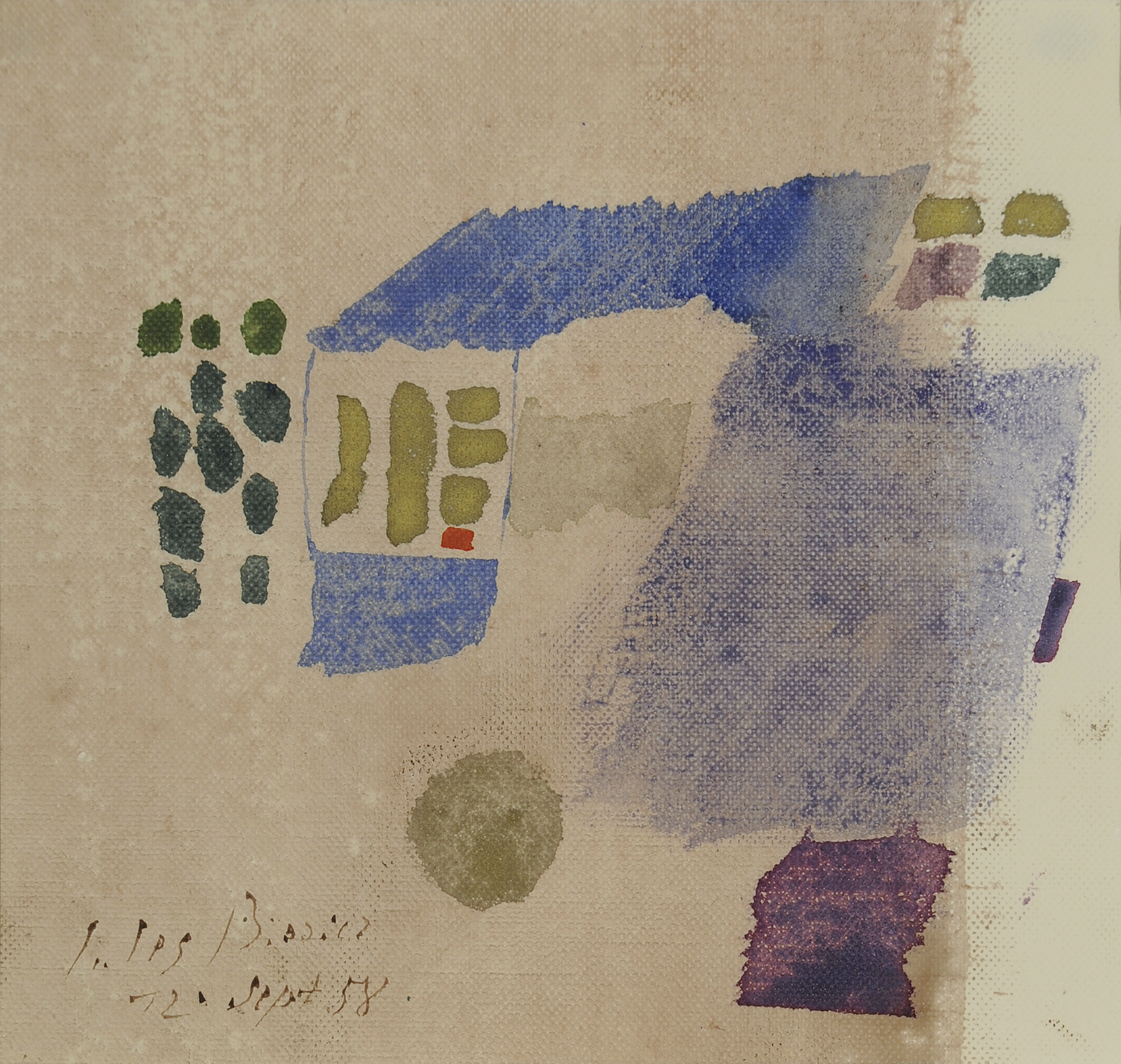 Galerie Maulberger Julius Bissier 1958