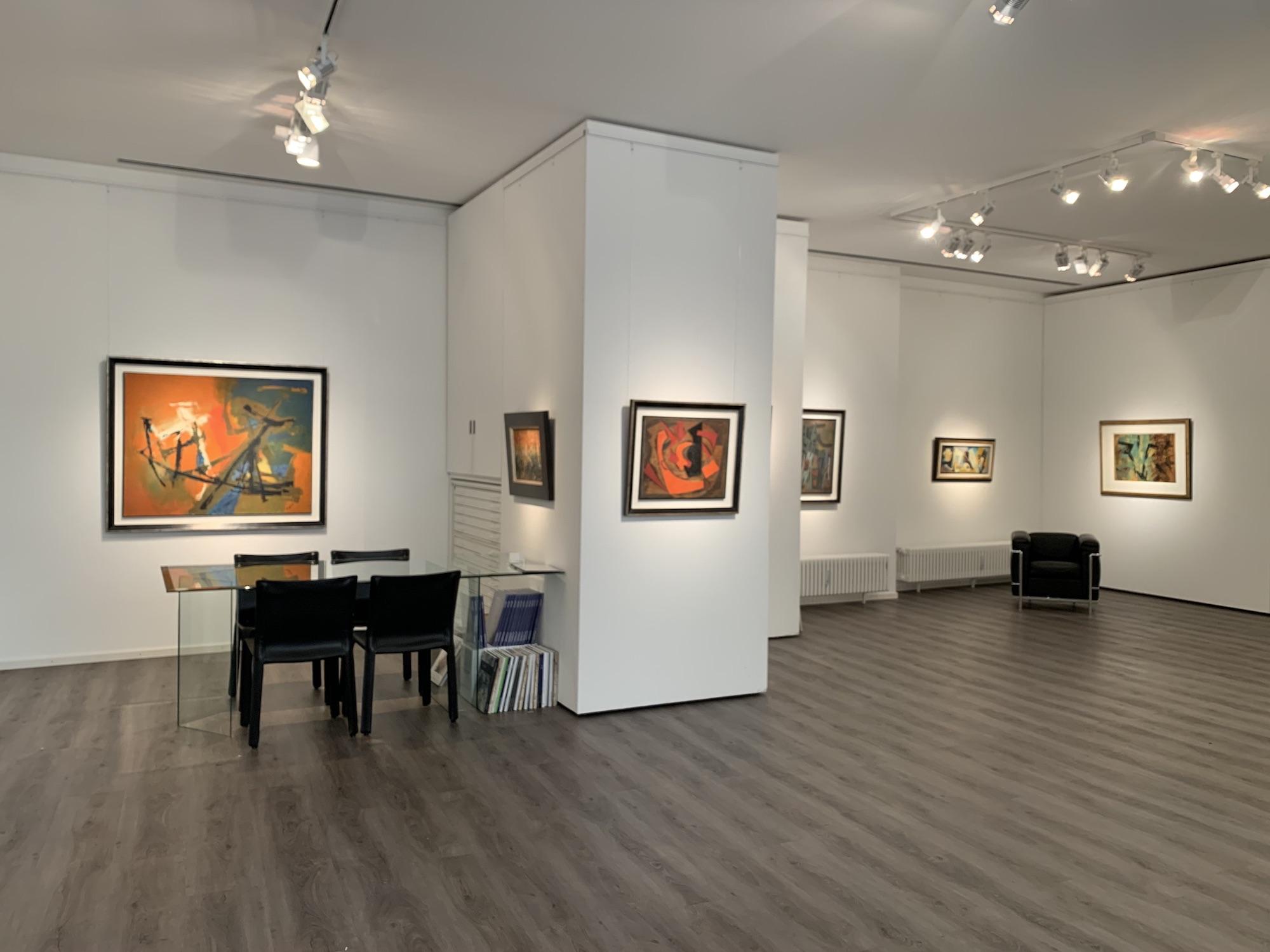 Ausstellung Abstrakte Welten II 2020 Galerie Maulberger 03
