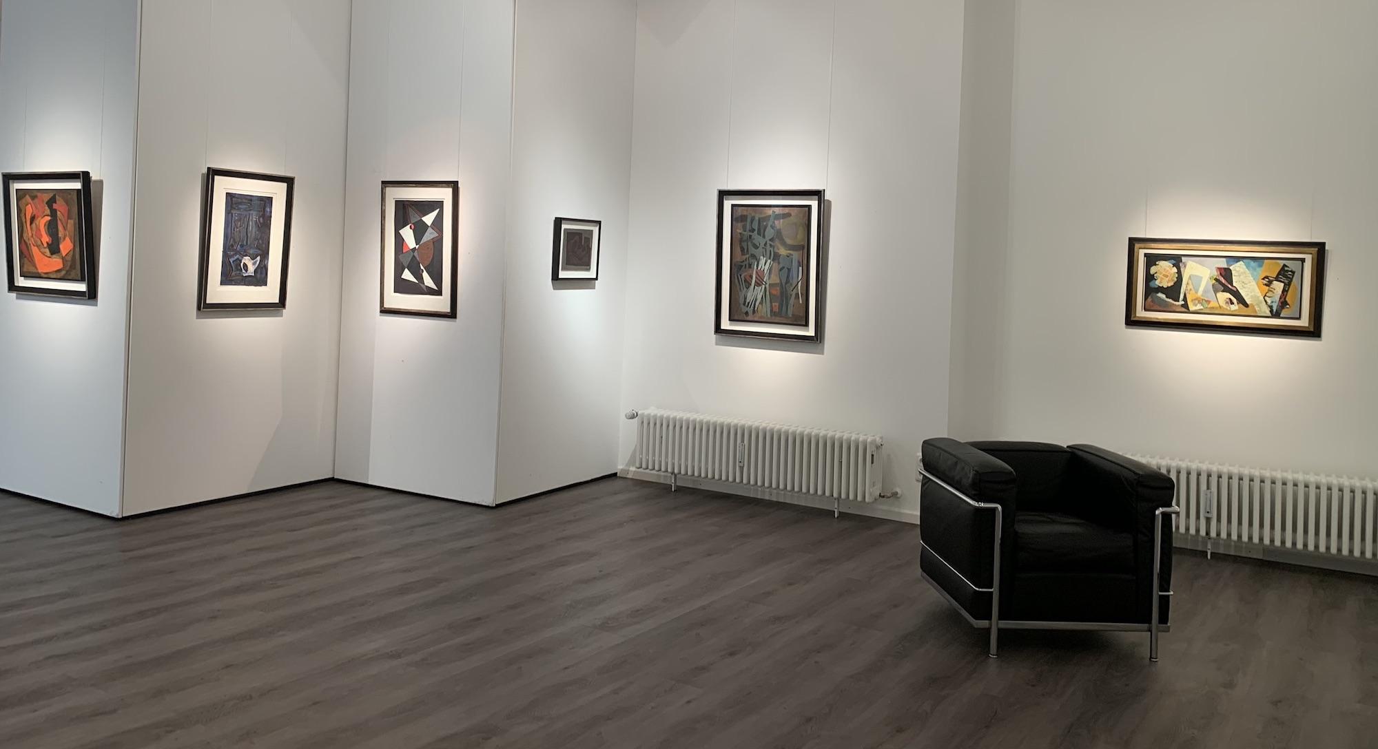 Ausstellung Abstrakte Welten II 2020 Galerie Maulberger 04