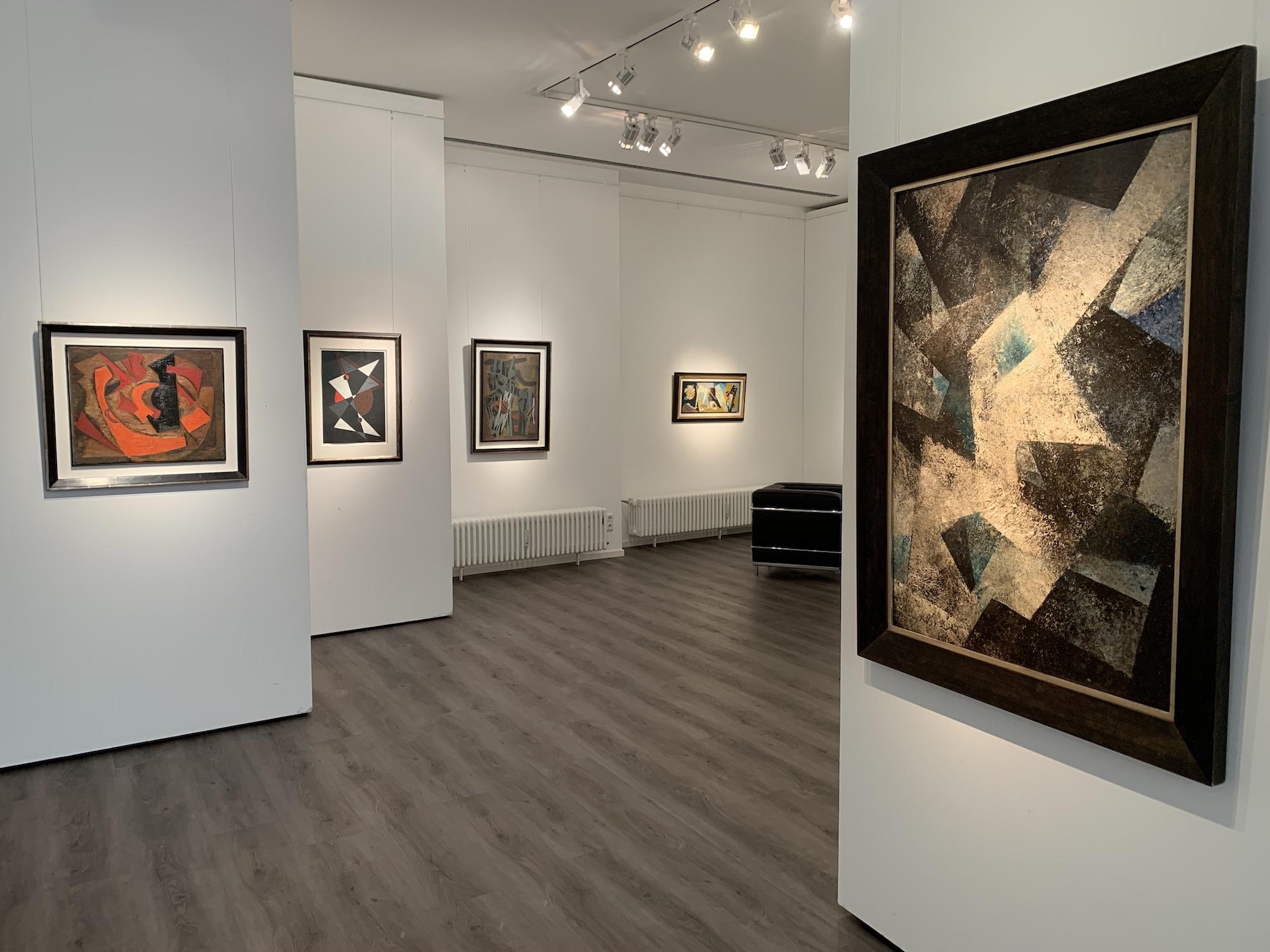 Ausstellung Abstrakte Welten II 2020 Galerie Maulberger 05