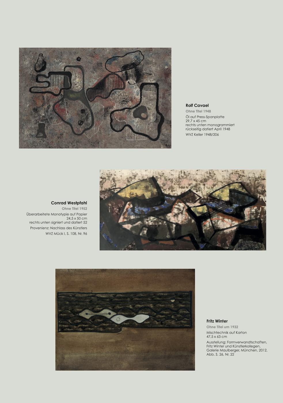 Einladungskarte Ausstellung Abstrakte Welten II 2020/2021 Galerie Maulberger 05