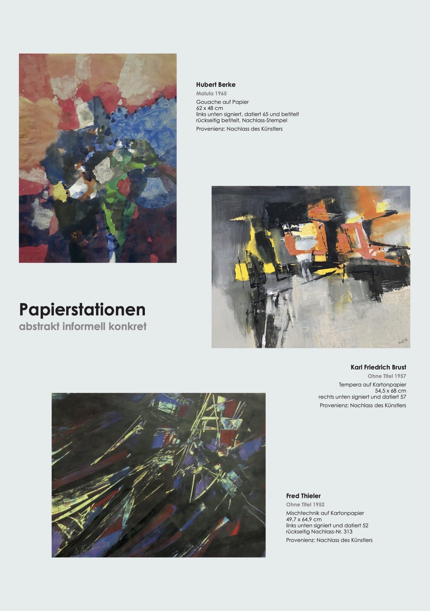 Ausstellung Papierstationen 2021 Galerie Maulberger 02