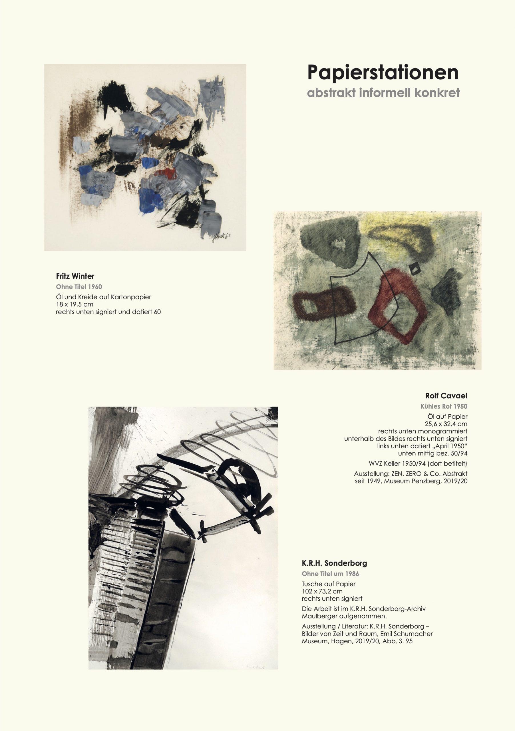 Ausstellung Papierstationen 2021 Galerie Maulberger 04