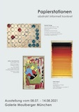 Ausstellung Papierstationen 2021 Galerie Maulberger