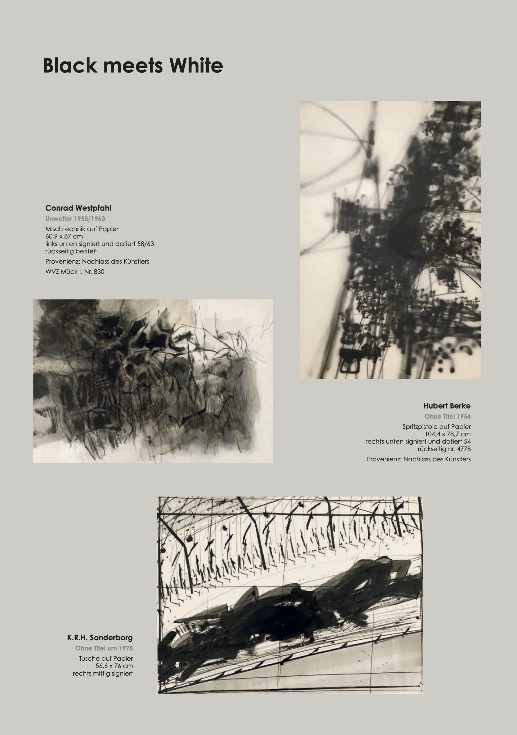 Ausstellung Black meets White 2021 Galerie Maulberger 05